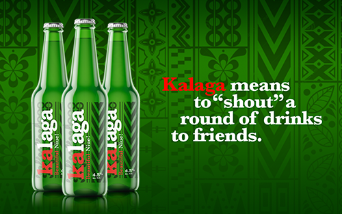 Project: Niue's Kalaga Beer Brand