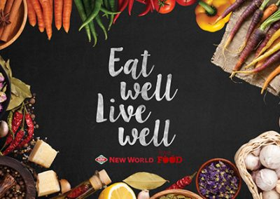 Project: Eat Well, Live Well